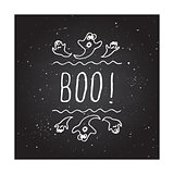 Boo - typographic element