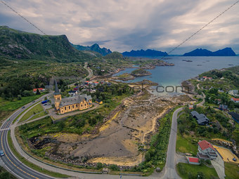 Vagan church on Lofoten