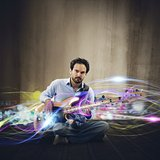 Electric guitar  effect