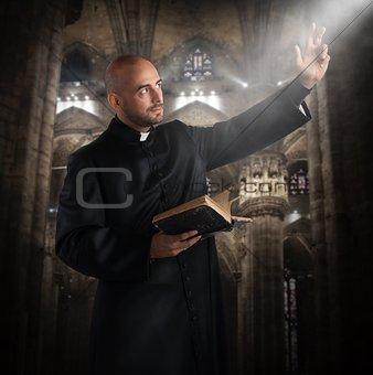 Pray in the church
