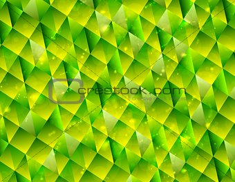 Abstract polygonal triangles tech background