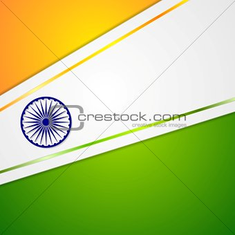 Corporate bright abstract background. Indian colors
