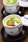 chawanmushi, japanese steamed egg custard