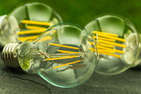 green light,  E27 LED bulbs with various chips