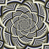 Curved Chevron Spiral