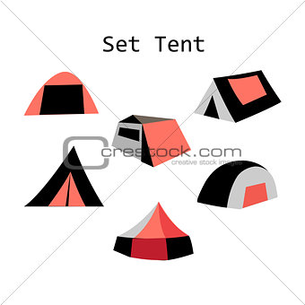 forms of tourist tents
