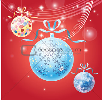 Beautiful vector illustration Christmas