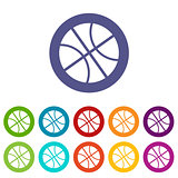 Basketball flat icon