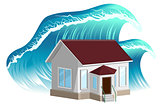 House flooding. Property insurance