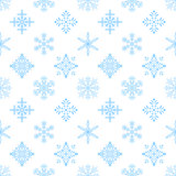 Snowflakes, Seamless Wallpaper