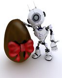Robot with easter egg