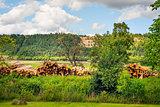 Romantic landscape Franconia