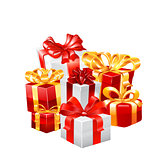 gift vector illustration.