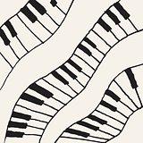 Piano - vector illustration