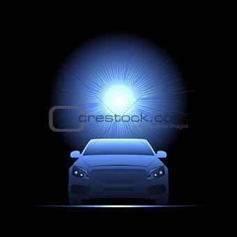 car, light transport, Flash