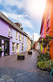 irish town center
