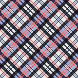 Contrast seamless tartan diagonal texture