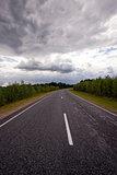 asphalted road