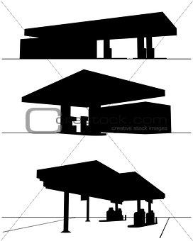 Three refueling station