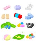 Set of medication