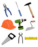 Construction tools set