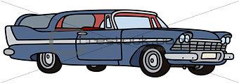Old big station wagon