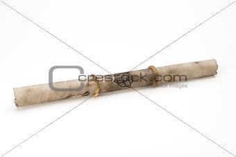 Old magic parchment