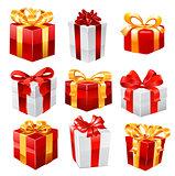 Gift vector set.