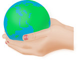 The Globe is in your hands