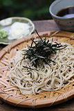 zaru soba, Japanese cold buckwheat noodles