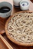 mori soba, Japanese cold buckwheat noodles