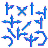 Blue Arrows
