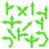 Green Arrows
