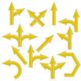Yellow Arrows