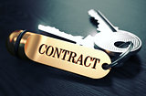 Contract written on Golden Keyring.