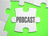 Podcast - Jigsaw Puzzle with Missing Pieces.