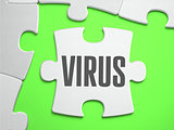 Virus - Jigsaw Puzzle with Missing Pieces.