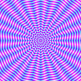 Star Ripples in Pink and Blue