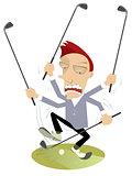 Super golfer