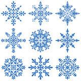 Snowflakes Silhouette Set