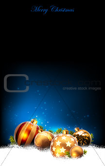 christmas baubles design