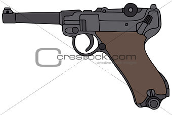 Old germany handgun