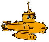 Yellow small submarine