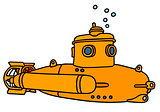 Yellow small submarine