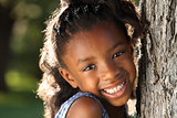 Happy Afro Child