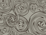 Swirling hand drawn of various vintage background. Vector