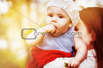 Beautiful cute baby girl
