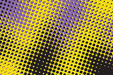 Colorful abstract background with dots.