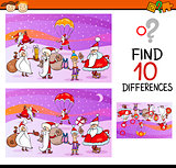 preschool differences task