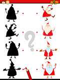 shadow task with santa claus